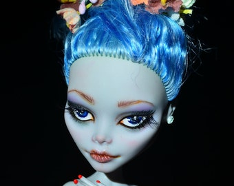 SUMMER SALE 20% OFF - Custom Monster High Doll Repaint Ghoulia Yelps