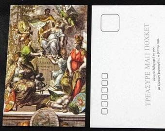 Atlas Historique Set of 20 Ancient and Antique Historic Map Postcards