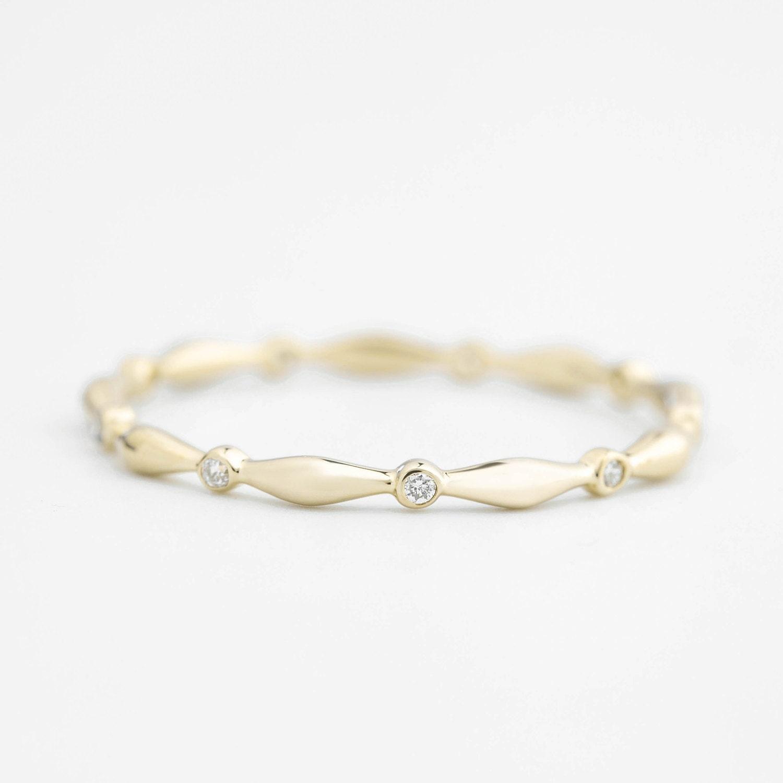 unique wedding band wedding ring eternity ring stacking