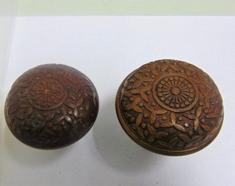 Antique Rice Entry Doorknobs, E0001