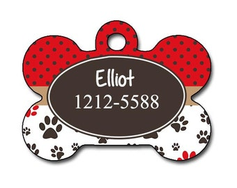Dog Identification Tag, Pet ID Tags,