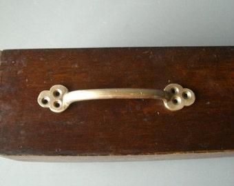 Solid Brass hardware. Rusic drawer / door pulls / Handles.