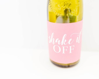 Wine Label - Shake It Off