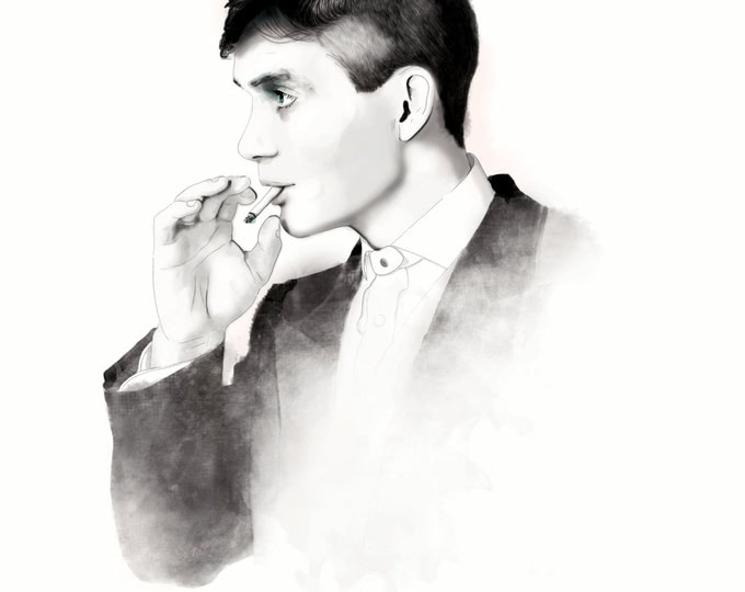 Featured listing image: Cillian Murphy - Thomas Shelby - The Peaky Blinders