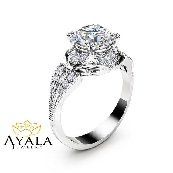 Cascade Engagement Ring