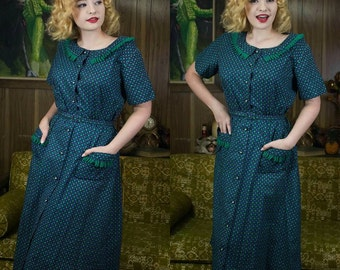 """40s Shirt Dress 
