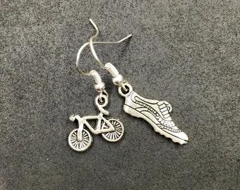 T2 - Bike Run Earrings