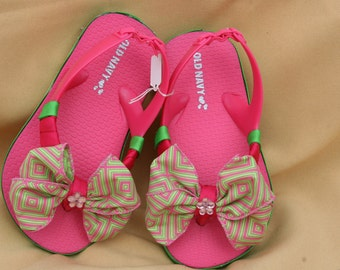 Toddler Bow Flip Flops