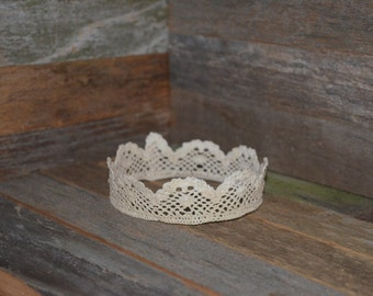 Photo Prop - Crochet Crown - In Stock Ready to Ship