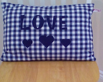 Shabby chic style cushion