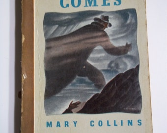 The Fog Comes by Mary Collins Bantam Books #23 1946 Vintage Mystery Paperback