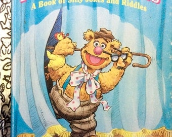 Fozzie's Funnies A Book of Silly Jokes and Riddles Little Golden Book