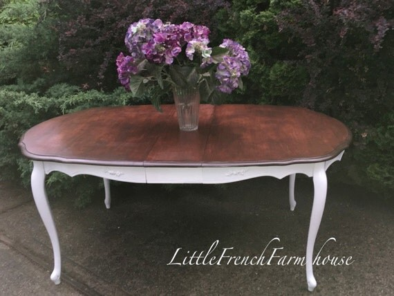 VINTAGE French Provincial Dining Table Custom Finished To Order