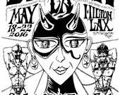 Mature Femdom Fetish Art: 2016 DomCon Show Poster