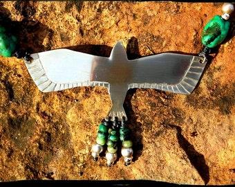 Necklace Eagle ancestral ...