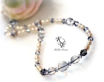 Something Blue, Bridal Necklace, Prom Jewelry, Wedding Jewelry, Bridal Jewelry, Blue Necklace, Something New, Something Blue Gift, Bride