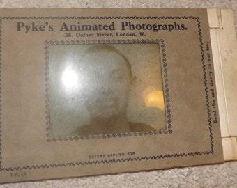 Rare pykes animated photographs. mad man /criminal holographic photo
