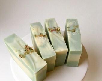 Eucalyptus and Sea Salt Soap