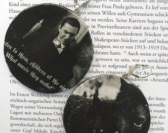 Earring Children of the Night, Bela Lugosi, Wolf