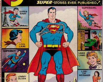 Superman Annual #1 - 1960 Issue - DC Comics - Grade G