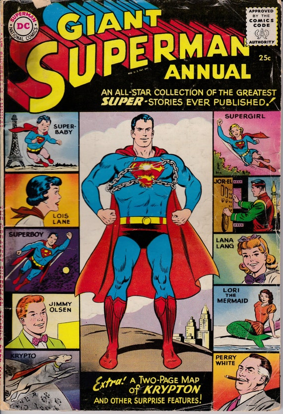 Superman Annual Issue No.6 Winter 1962/63