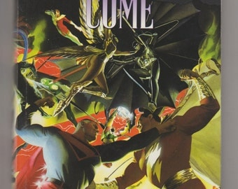 Kingdom Come, Modern Age Comic Elseworlds Trade Paperback, 1st Printing. VF (8.0). 1997. DC Comics