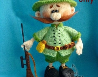 Hunter, amigurumi knitting pattern