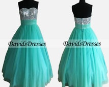Vintage Ball Gown Prom Dresses
