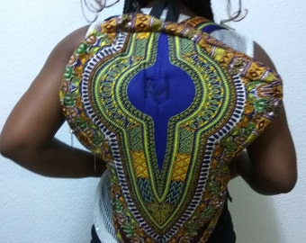 Dashiki AfricaTouch Backpack