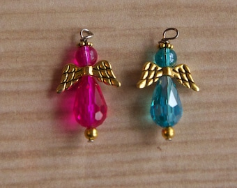 Angel Charm- will attach to any badge reel you order. Not for individual sale