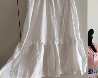 1950s skirt, crinoline, slip, petticoat, 1960s, undergarment, vintage