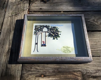 Barnwood Shadow Boxes for Quilling Wall Art