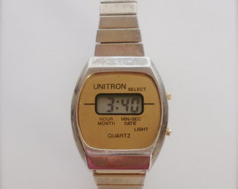 Unitron Boy's or Ladie's LCD Watch