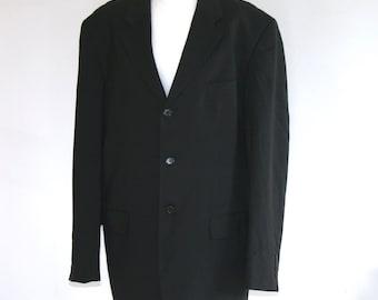 Jacket man Calvin Klein / man black jacket / black blazer / suit jacket / overize /