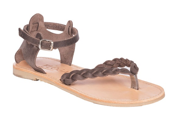 Handmade Leather Sandals from Floga New York