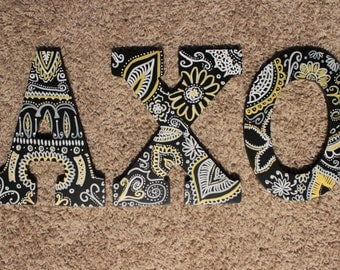 Custom Decorated Wooden Letters
