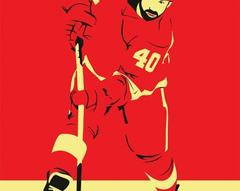Detroit Red Wings A3 print