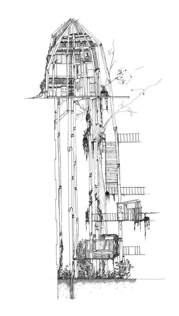 Treehouse Print 2