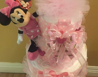 baby minnie mouse baby shower party favors baby by southflower
