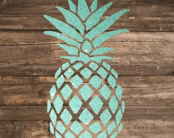 Pineapple Decal | Pineapple Sticker | Yeti Decal | Tumbler Decal | Laptop Decal