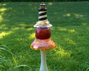 Lighthouse Garden Stake