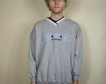 Grey BUM Equipment Sweatshirt