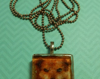 Personalized Photo Pendent with Chain