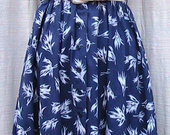 CLASSIC Vintage 1950s German Cotton SUN DRESS