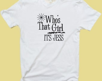 Who's That Girl It's Jess (Zooey Deschanel/New Girl) - T Shirt or Tank Top - Women - Men