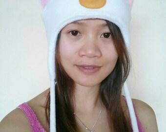 Sailor Moon Hat - Artemis Cat Hat - Cat Ears - Cat Fleece Hat - Cat Aviator Hat - Artemis Ear Hat - Cat Earflap Hat - Sailor Moon Cat Hat