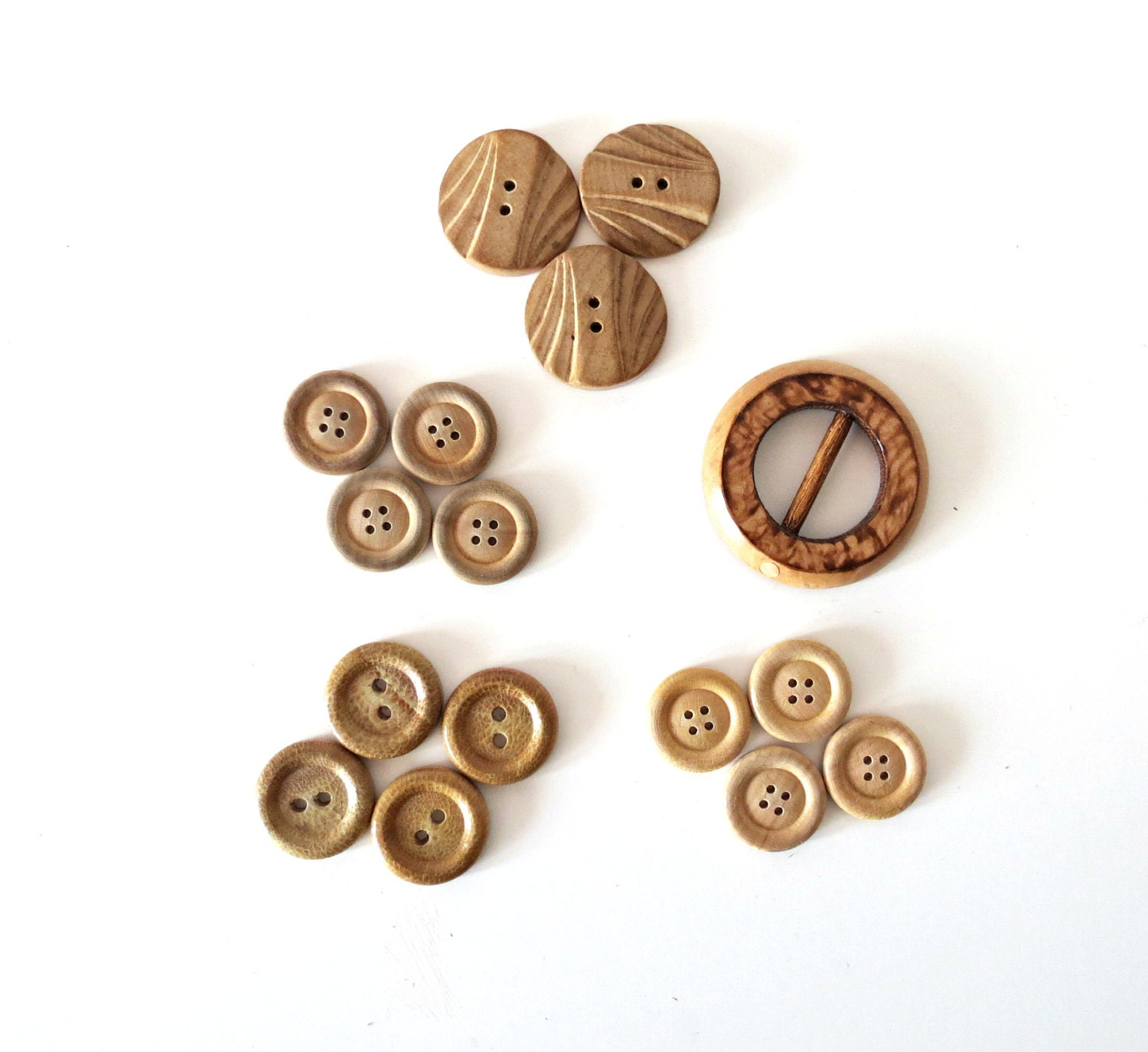 Vintage Wooden Buttons 49