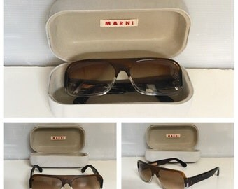 MARNI - Vintage Marni Sunglasses - Marni Sunglasses - Authentic Marni