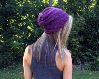 Tornado Hat - Soft Hand Knit Beanie