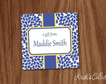 Personalized Gift Tags or Stickers,  Ladies Custom Calling Cards Personal Business Cards, Gift Inserts Enclosure Cards, Mommy Cards